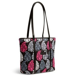 Vera Bradley Small Trimmed Vera Tote Bag NWT
